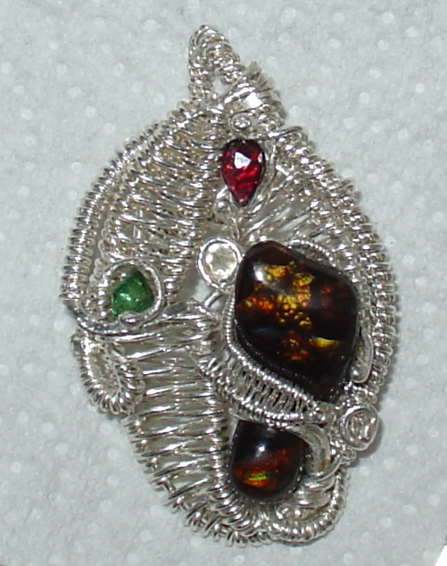 Mexican Fire agate