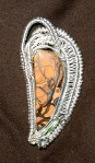 Boulder opal andTourmaline