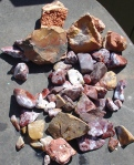 Rocks in thetub